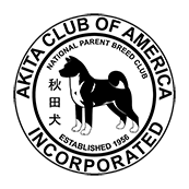 Akita Club of America official logo